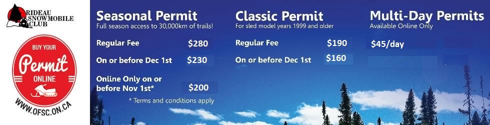 Rideau Snowmobile Club - Home Page